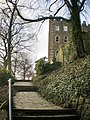 Footpath in the grounds of Clitheroe Castle - geograph.org.uk - 1100098.jpg