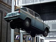 Ford Anglia 105E Deluxe sedan - Harry Potter Flying Car (6794330476).jpg