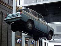La voiture volante de Mr Weasley.