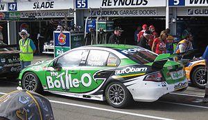 David Reynolds (racing driver) - Image: Ford FG Falcon of David Reynolds 2012