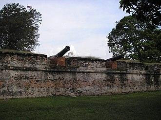 Fort Cornwallis - Image: Fort Cornwallis Penang Dec 2006 003