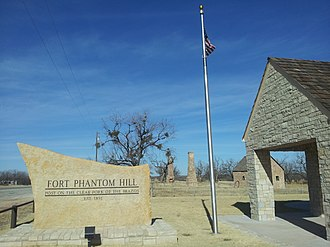 Fort Phantom Hill - Fort Phantom Hill Entrance