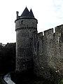 Fougères (35) Château Tour du Hallay 01.JPG