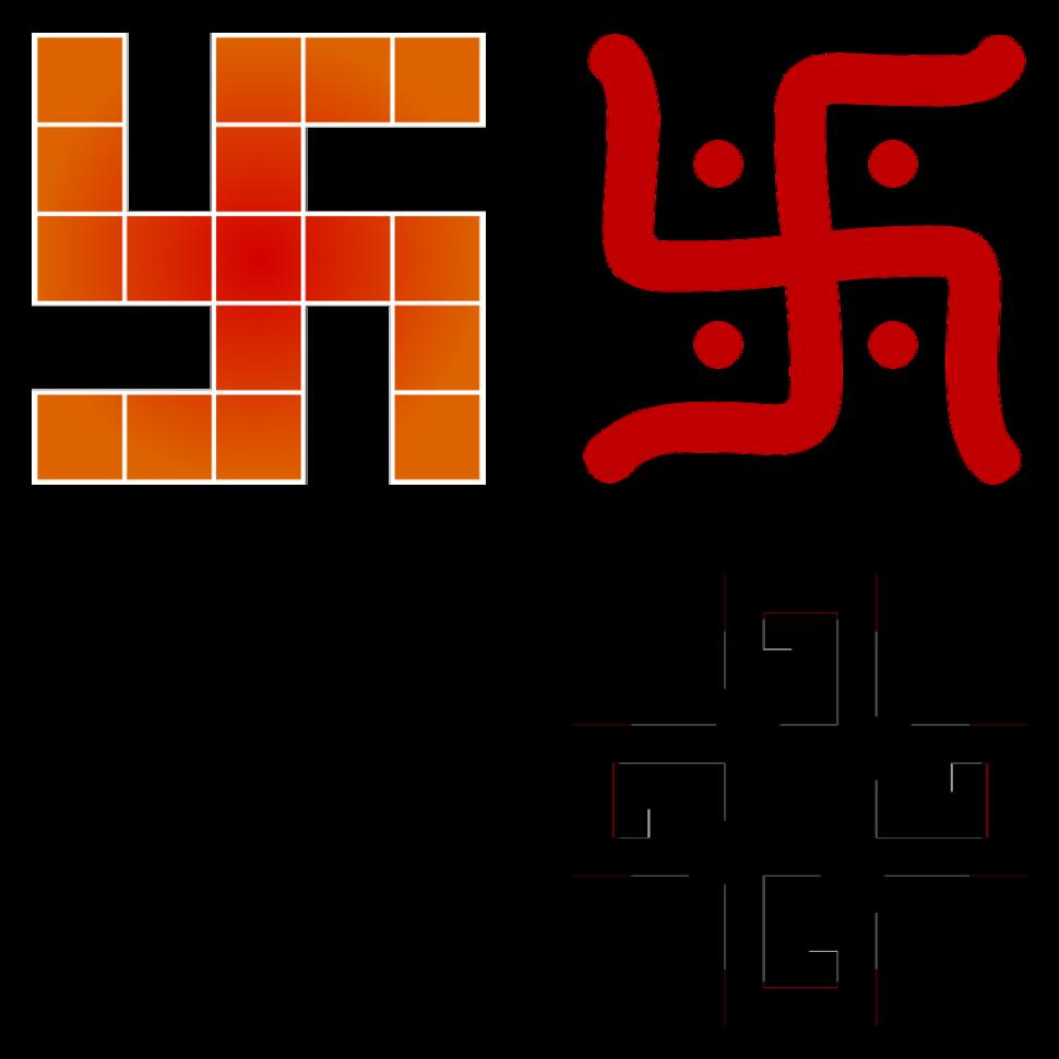 Four-swastika collage (transparent)