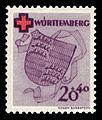 Fr. Zone Württemberg 1949 41A Rotes Kreuz.jpg