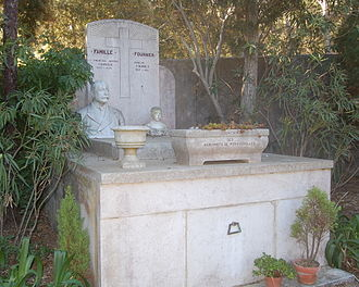 François Joseph Fournier - The tomb of Fournier in Porquerolles