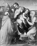 Francesco Menzocchi - The Madonna and Child with Saints - KMSsp8 - Statens Museum for Kunst.jpg