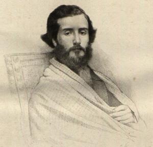 Francisco Augusto Metrass - Francisco Augusto Metrass, from the Revista Contemporânea de Portugal e Brasil (1861)