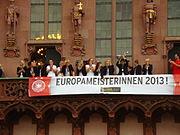 Frauen-Europameister 2013 Römer8