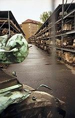 Potongan puing-puing yang telah didaftar, September 1999.