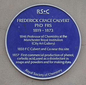 Frederick Crace Calvert -  Blue plaque
