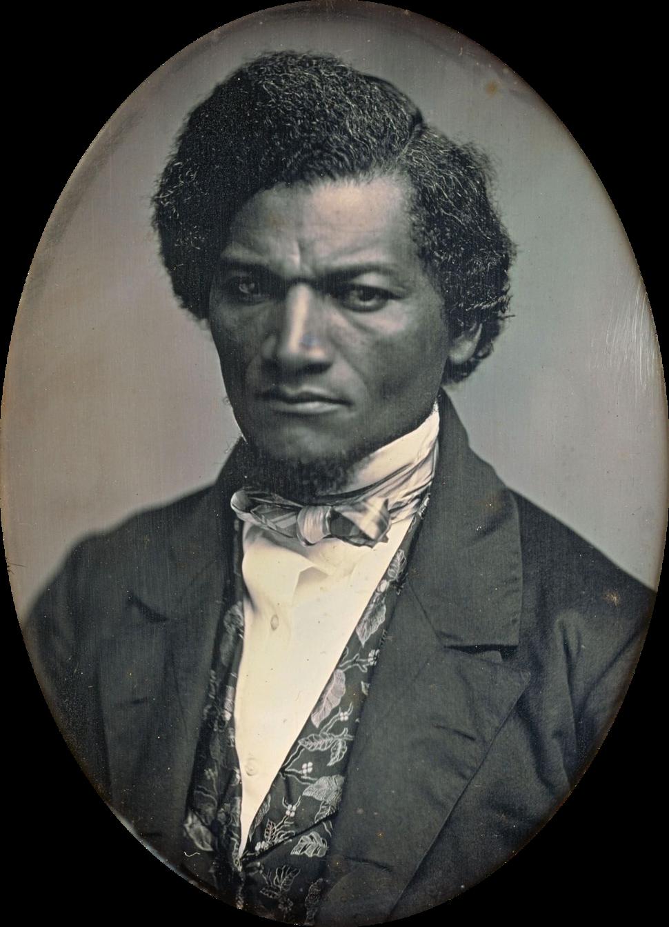 Frederick Douglass by Samuel J Miller, 1847-52