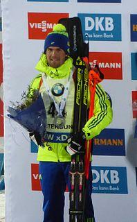 Fredrik Lindström (biathlete) Swedish biathlete