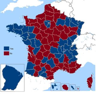 French European Constitution referendum, 2005 - Image: French European Constitution referendum (including overseas), 2005