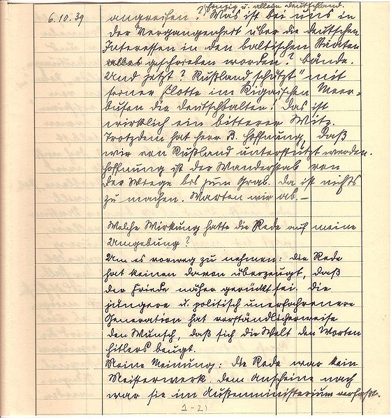 File:Friedrich Kellner diary Oct 6, 1939 p3.jpg