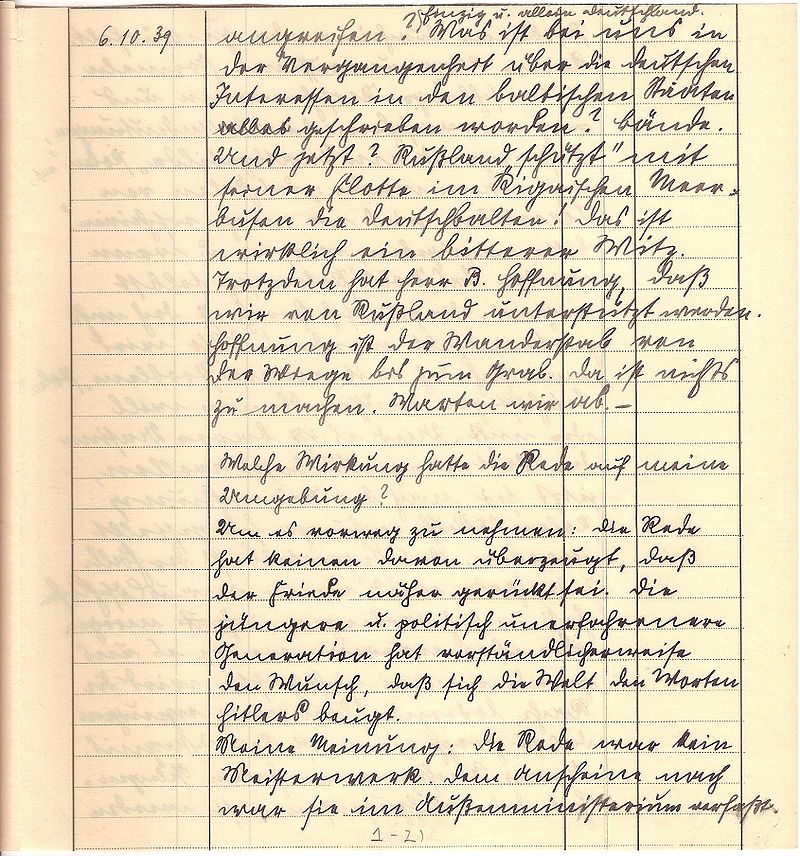 Friedrich Kellner diary Oct 6, 1939 p3.jpg