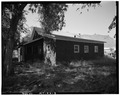 Front and Right Side, Showing Side - U. S. Indian Service Laborer's Cottage, Lame Deer, Rosebud County, MT HABS MONT,44-LADE,1-3.tif