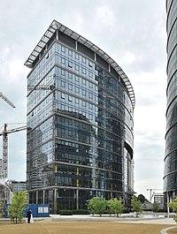 Frontex HQ Warsaw Spire office complex Warsaw.jpg