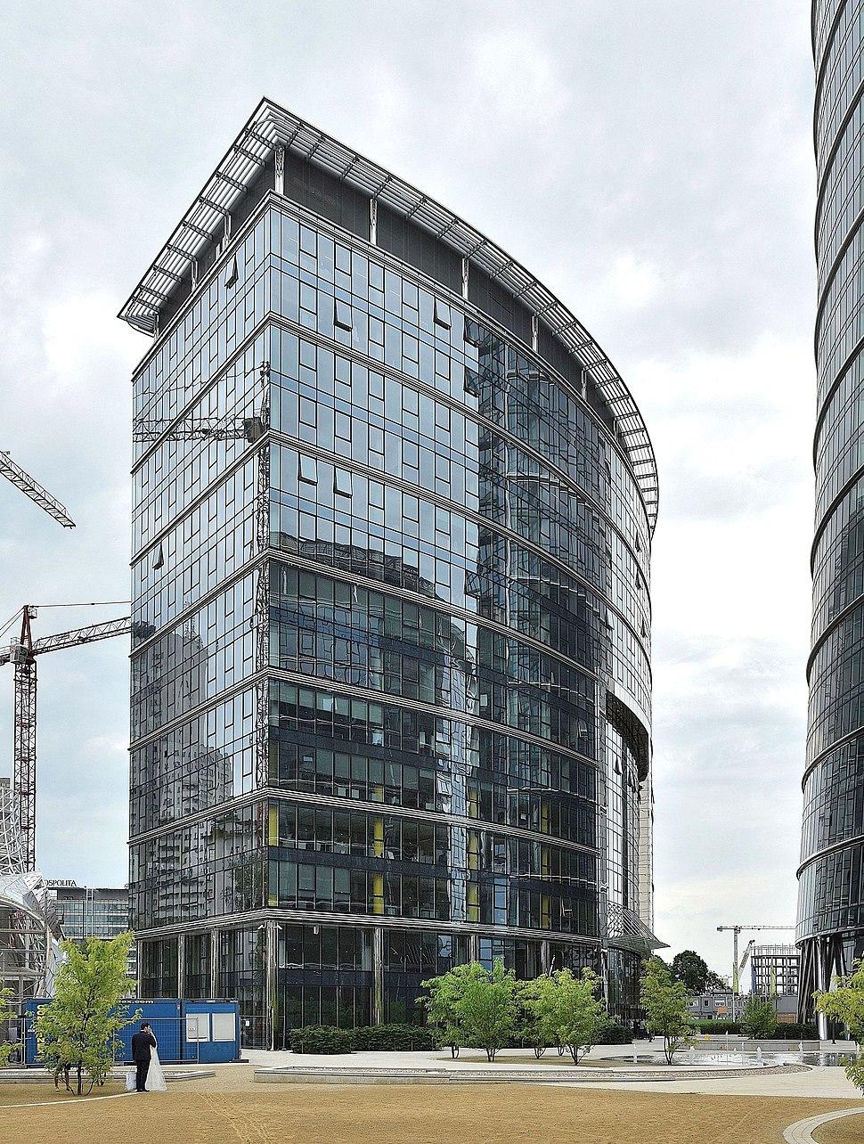 Frontex HQ Warsaw Spire office complex Warsaw