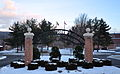 Frostburg State University entrance arch.JPG