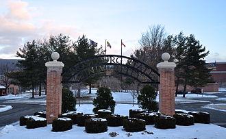Frostburg State University - Frostburg State University entrance arch