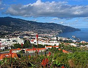 Funchal, Madeira - tourism is an important economic activity in the Portuguese island of Madeira.
