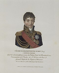 Charles-Étienne Gudin de La Sablonnière French general during the French Revolutionary Wars and Napoleonic Wars