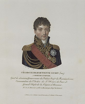 Charles-Étienne Gudin de La Sablonnière - General Gudin de la Sablonnière