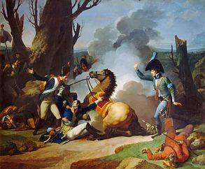 Mort du Général Valhubert le 2 décembre 1805