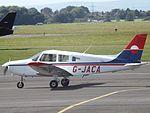 G-JACA Piper Cherokee Warrior 28 (29281357820).jpg