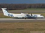G-JEDI DeHavilland Canada DHC-8-402 Dash8 GH8D - BEE (16253515762).jpg