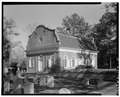 GENERAL VIEW, FROM SOUTHWEST - St. Stephen's Church (Episcopal), Saint Stephen, Berkeley County, SC HABS SC,8-SAST,1-5.tif