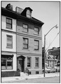 GENERAL VIEW, FROM WEST - Bridges-LaTour House, 509 South Front Street, Philadelphia, Philadelphia County, PA HABS PA,51-PHILA,429-1.tif