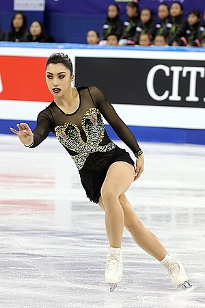 Gabrielle Daleman - Gabrielle Daleman at the 2017 Four Continents Figure Skating Championships