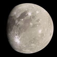 Photograph of Ganymede