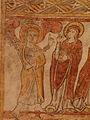 Gargilesse-Dampierre (36) Église Saint-Laurent et Notre-Dame Crypte Fresques 19.JPG