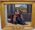 Garofalo (bottega), madonna col bambino e s. giovannino, 1500-1550 ca..JPG