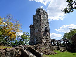 Lambert Tower in Garret Mountain Reservation