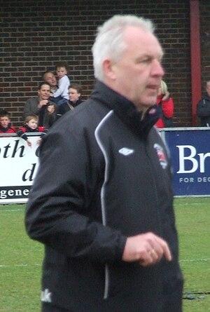 Eastbourne Borough F.C. - Garry Wilson.