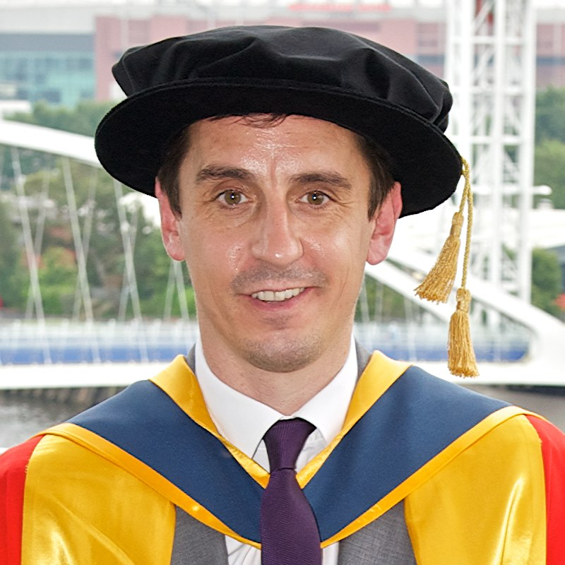 Gary Neville University of Salford
