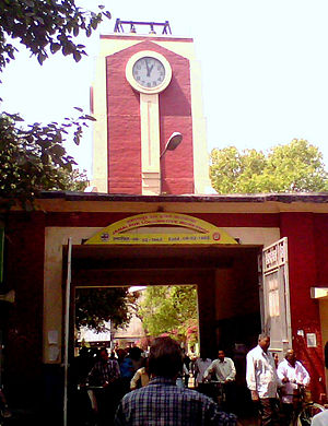 Jamalpur Locomotive Workshop - Entrance of Jamalpur locomotive workshop
