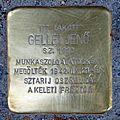 Gellei Jenő stolperstein (Budapest-13 Hegedűs Gyula u 37).jpg