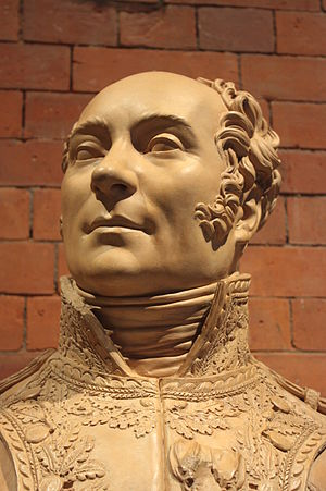Joseph Chinard - General Joseph Piston by Joseph Chinard, terracotta bust 1812