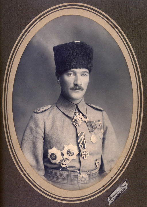 General Mustafa Kemal in Aleppo, 1917