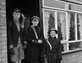 Geoff Charles' children wearing their St David's Day leeks (5450589049).jpg