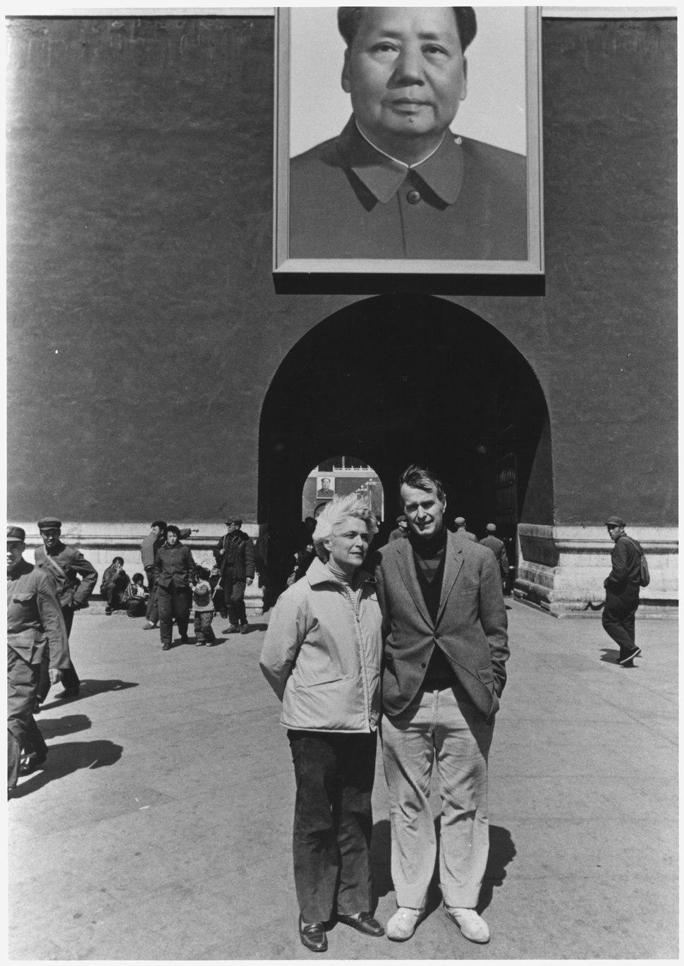 George Bush as United States Liaison to China, 1974-1975 - NARA - 186378.tif