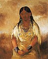 George Catlin - Mún-ne-o-ye, a Woman - 1985.66.262 - Smithsonian American Art Museum.jpg