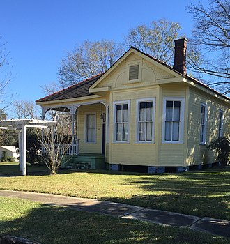 National Register of Historic Places listings in Pike County, Mississippi - Image: George Chadwick House