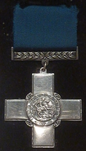 George Cross - The George Cross awarded to Malta (National War Museum, Malta)