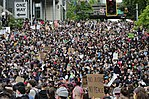 George Floyd protests in Seattle - June 3, 2020 - James Street from 4th Avenue.jpg